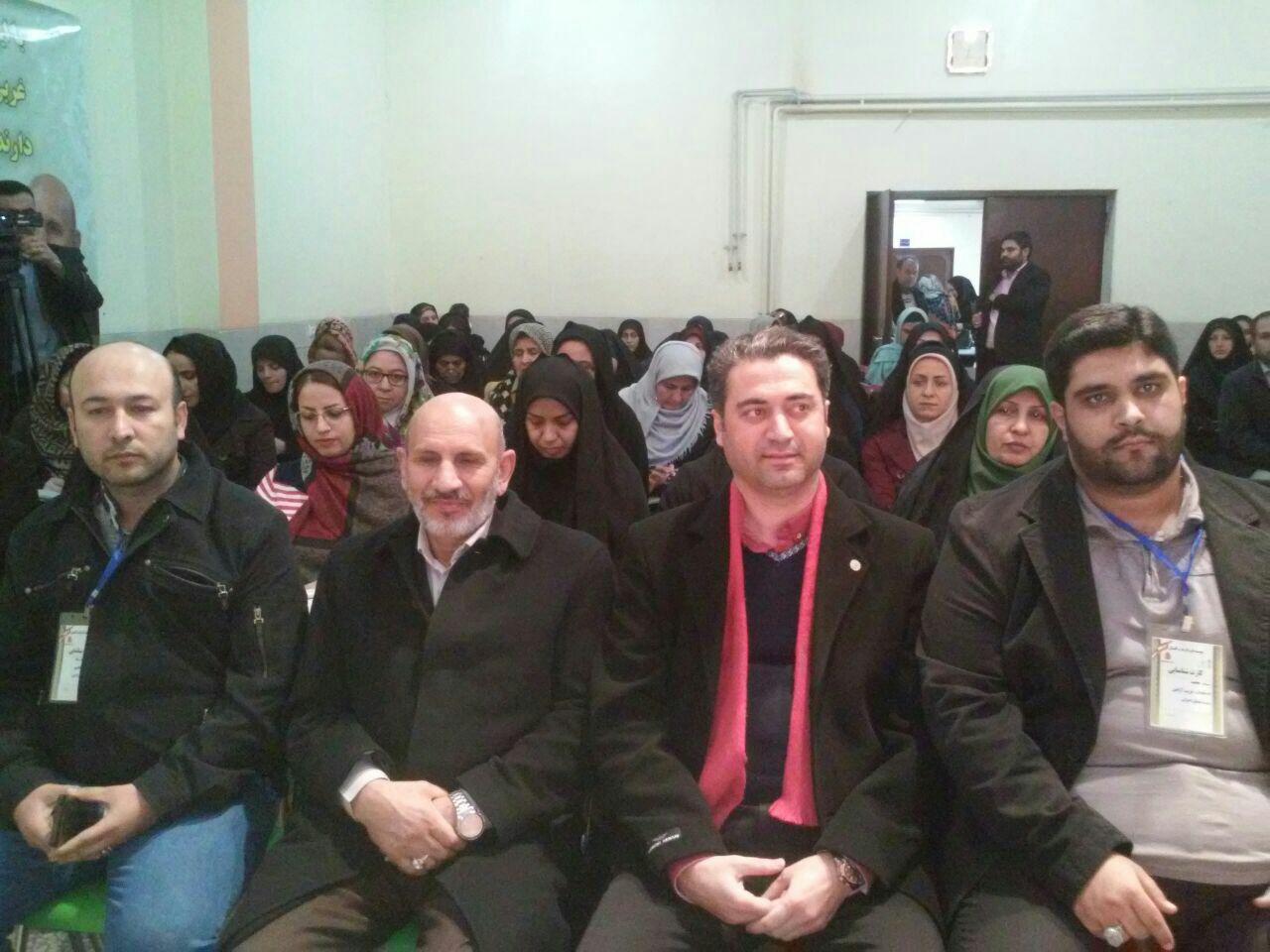 حضور استاد خیراندیش در موسسه ی طب الرضا گلستان