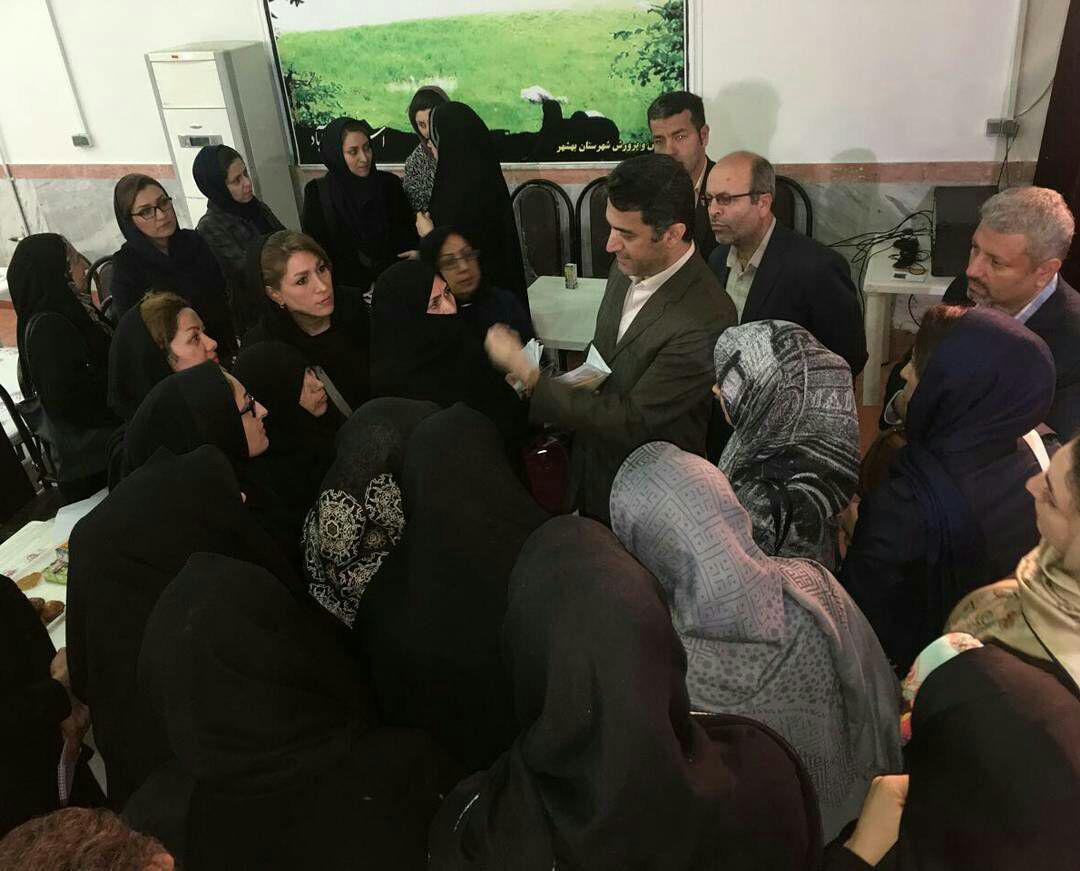 حضور دکتر ملاحی در بهشهر