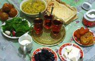 تغذیه افطار در ماه رمضان